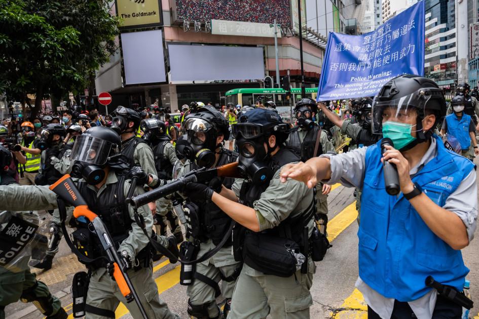 Протесты в Гонконге против закона о национальной безопасности