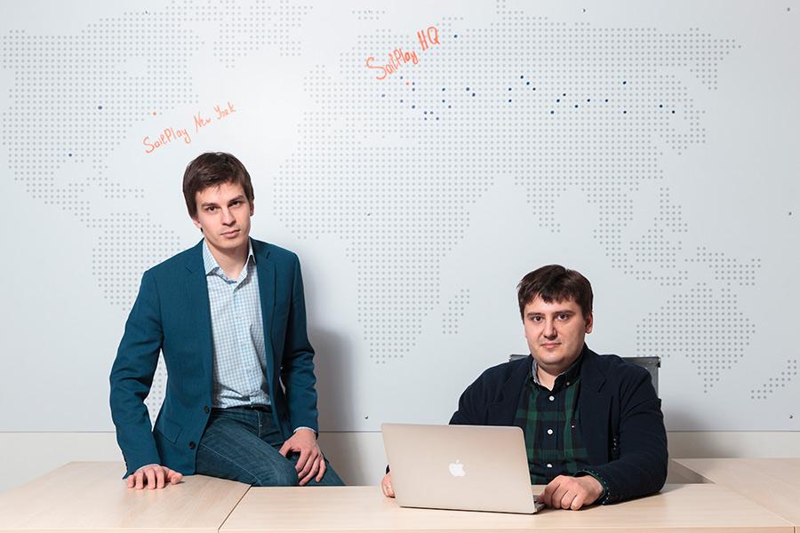 Леонид Шангин и Яков Филиппенко (справа)