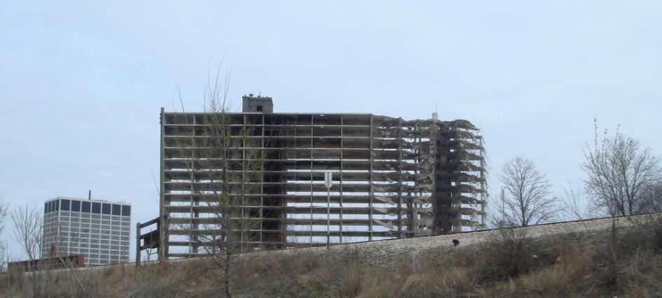 Снос жилого комплекса Robert Taylor Homes вЧикаго