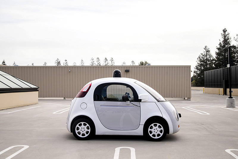 Прототип самоуправляемого автомобиляGoogle Self-Driving Car