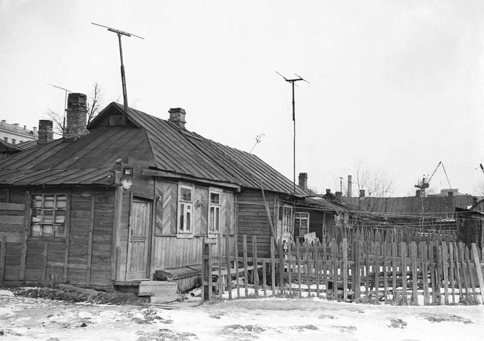 Третья Останкинская улица (ныне улица академика Королева) в 1946 году