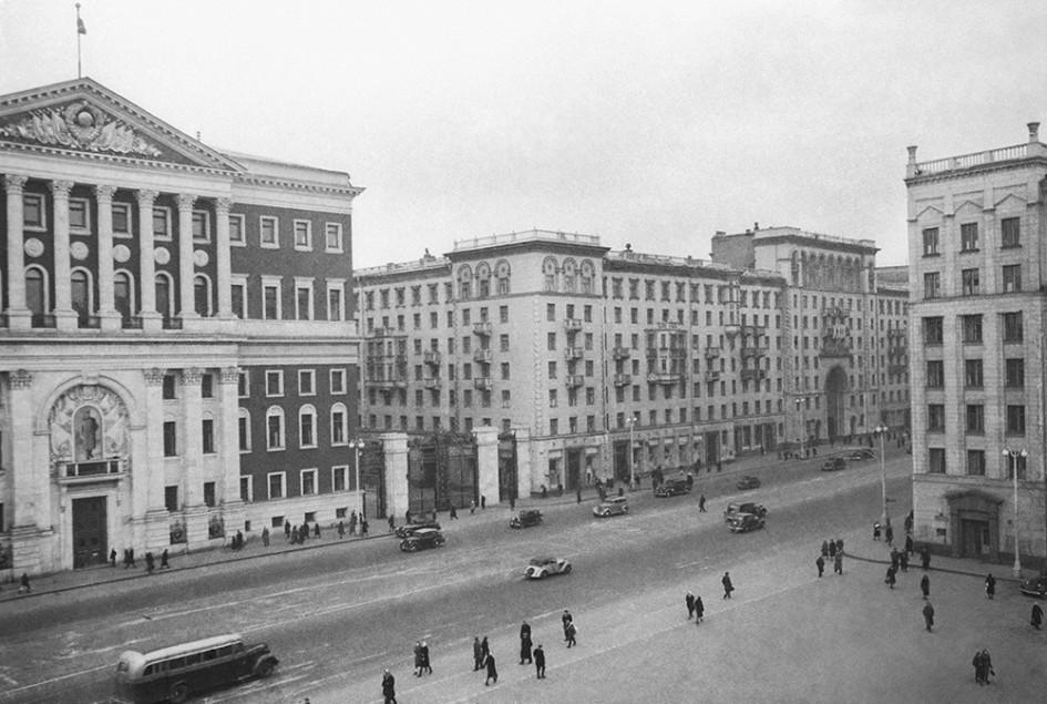 Советская площадь после реконструкции, 1946 год