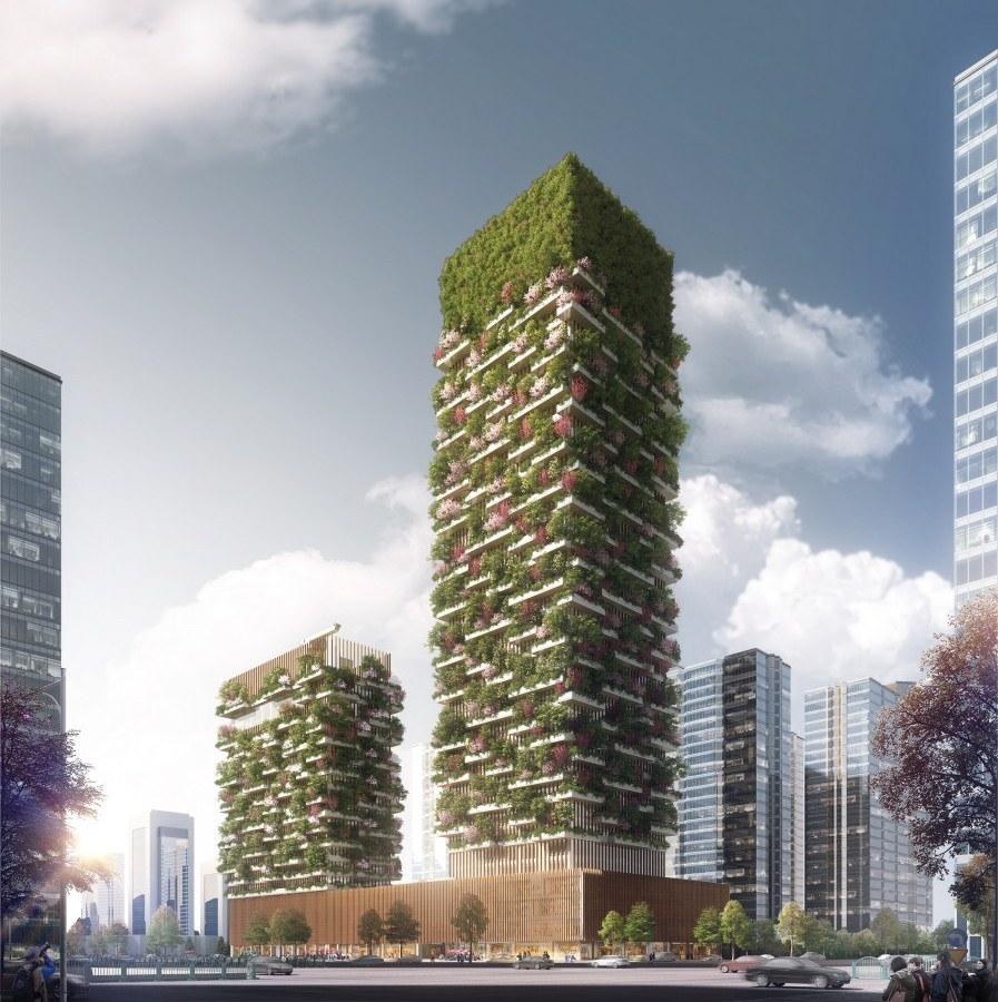 Nanjing Green Towers станет первым зданием вАзии снастолькообширным инасыщенным озеленением, пишет Designboom. После возведения этих небоскребов Боэри планирует клонировать Bosco Verticale вдругих городах Китая. В списке архитектора фигурируют мегаполисы Шицзячжуан, Гуйчжоу, Лючжоу, Шанхай иЧунцин