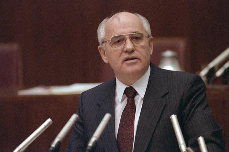 Бывший президент СССР Михаил Сергеевич Горбачев