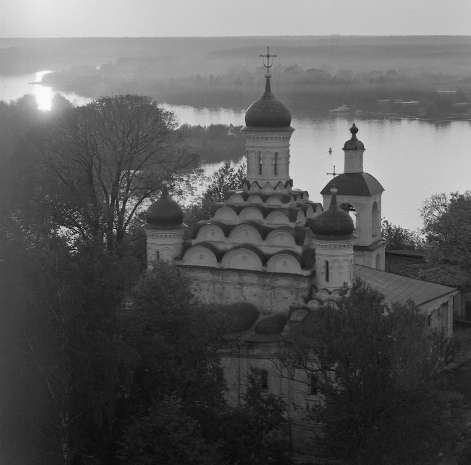 Церковь Троицы в селе Хорошево. 1989 год