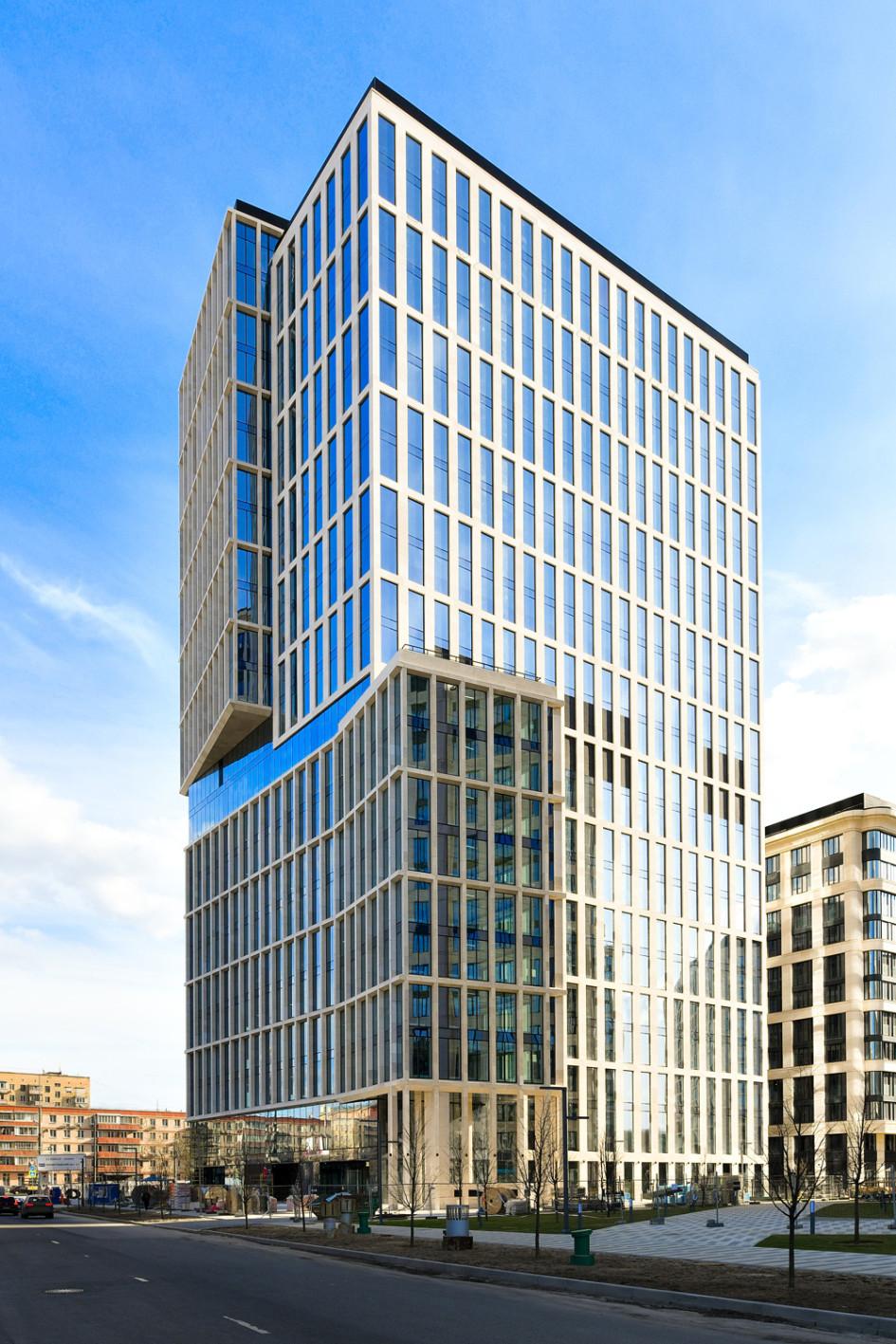 Самый большой офисный центр проекта «ВТБ Арена парк» стал доступен для аренды