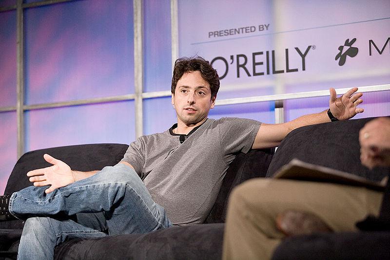 Один из основателей Google Сергей Брин