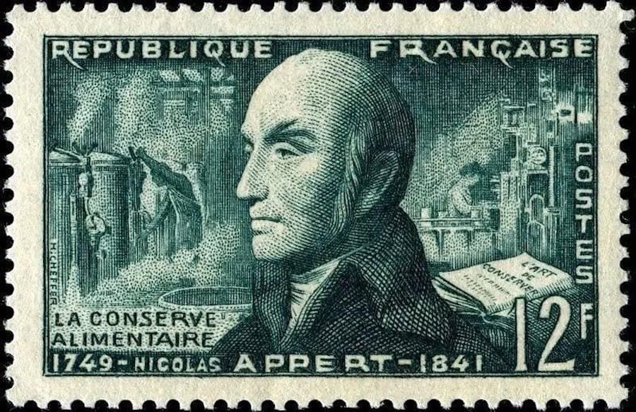 Изобретатель консервов Николя Аппер получил титул «Благодетель человечества» и собственную марку