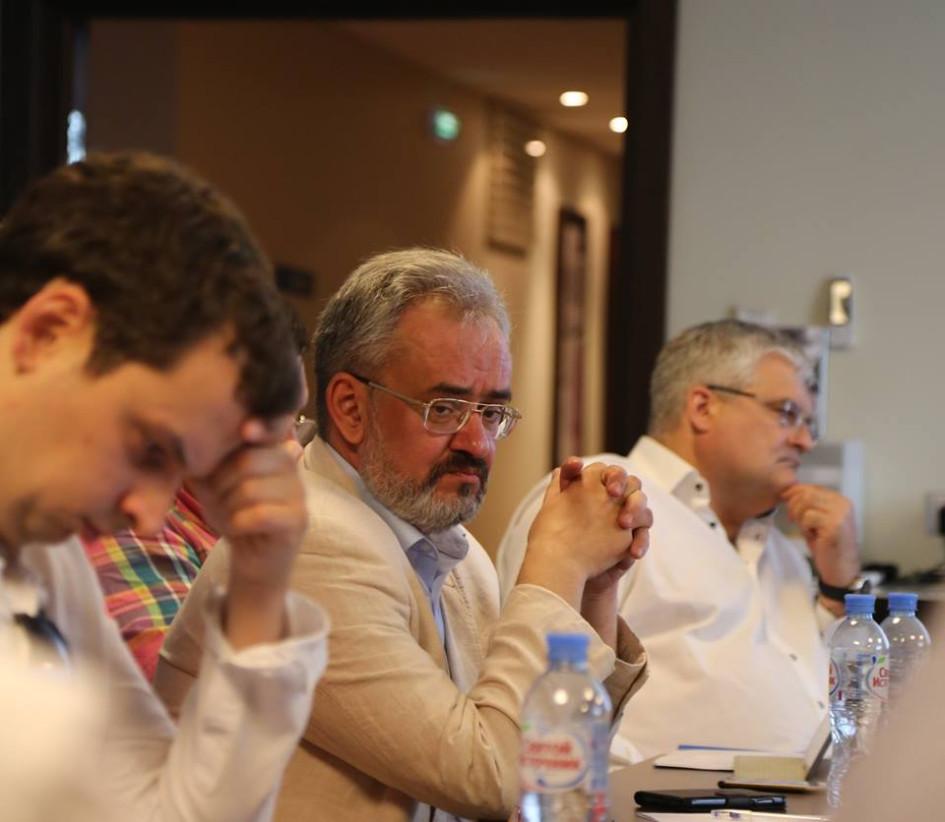 Доктор исторических наук Виктор Козодой