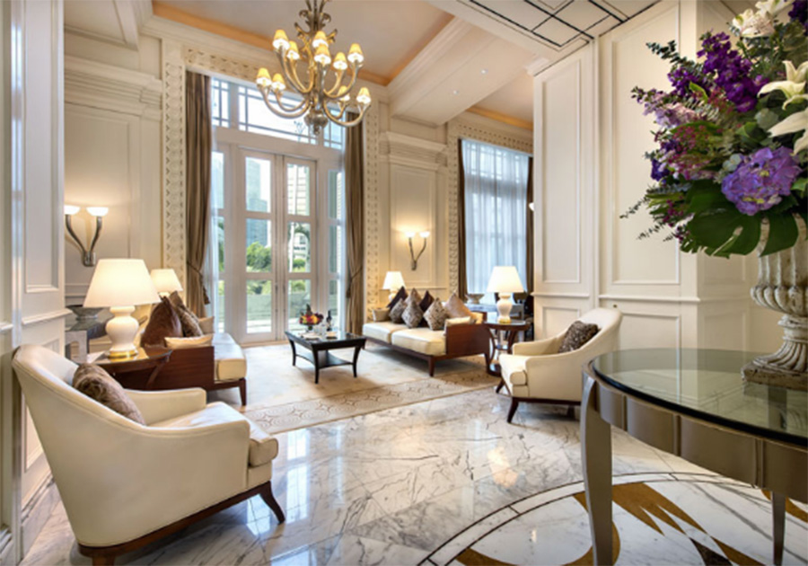 Президентский номер вThe Fullerton Hotel Singapore