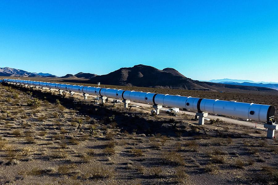 Фото: Virgin Hyperloop One
