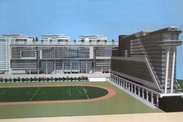 Фото: Один из проектов реконструкции стадиона «Динамо»