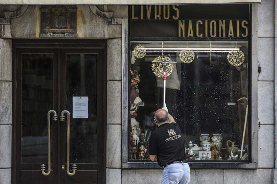 Санитарная уборка магазинов в Лиссабоне