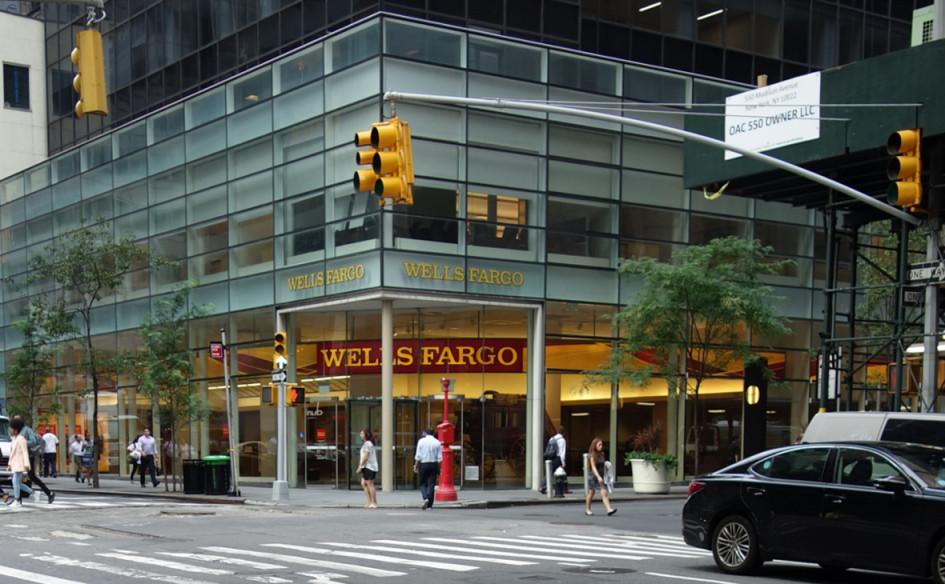 Офис Wells Fargo в Нью-Йорке, США