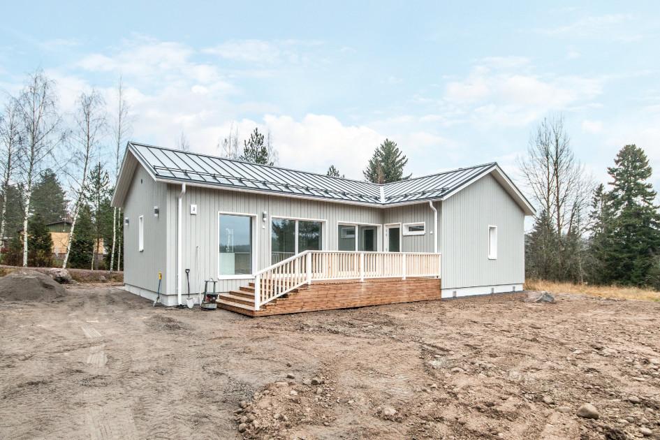 Односемейный дом в Финляндии, построенный из модулей Knauf Prefab Construction