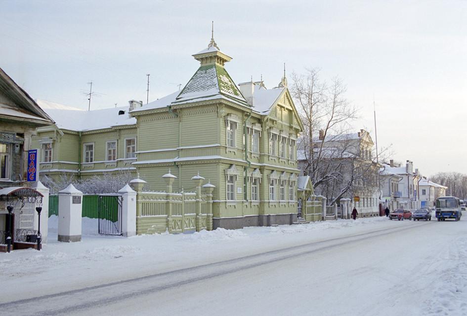 Улица в Великом Устюге