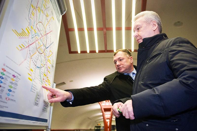 Под руководством вице-мэра Москвы Марата Хуснуллина за три прошедших года в столичном метрополитене построено 25 км тоннелей, 13 станций и три депо