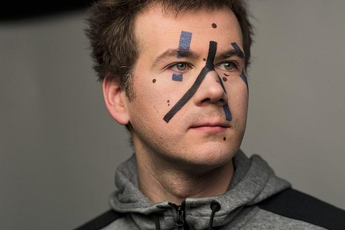 Пример макияжа, который использовал Григорий Бакунов