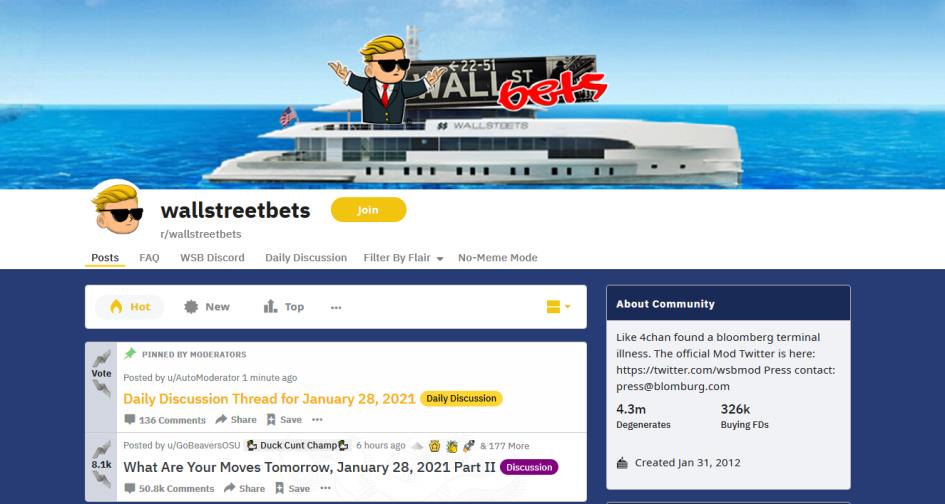 Трейдеры с Reddit разоряют шортистов на акциях GameStop. Что происходит