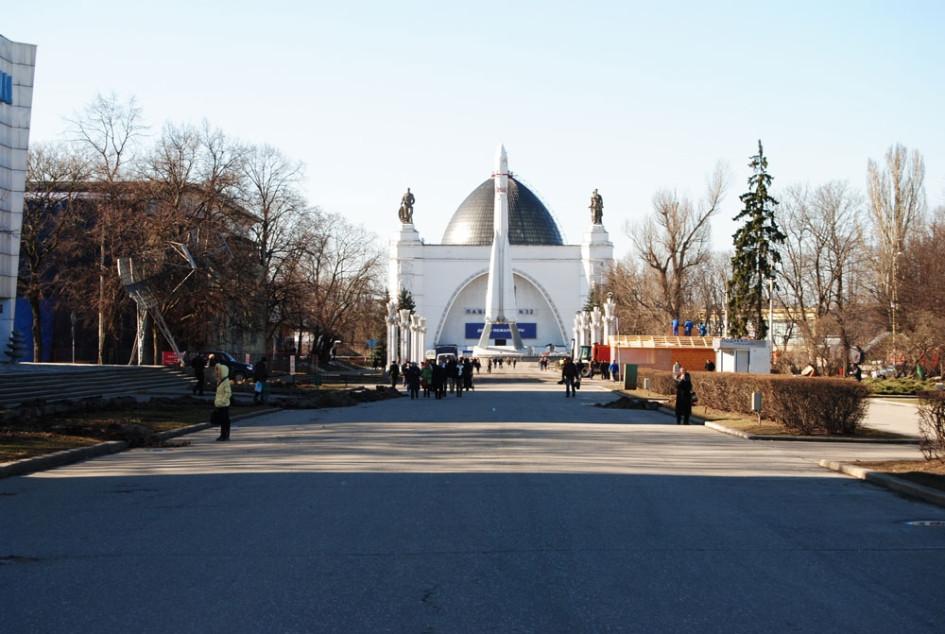Купол павильона Космос архитекторы сравнили с Собором Айя София в Стамбуле