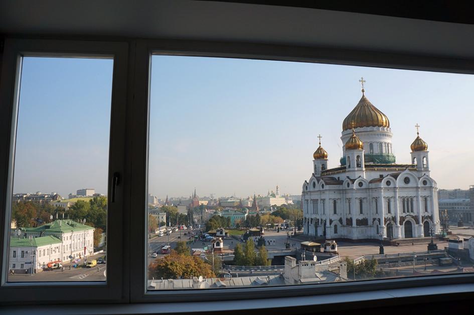Дореволюционные дома, как правило, расположены в самом центре Москвы