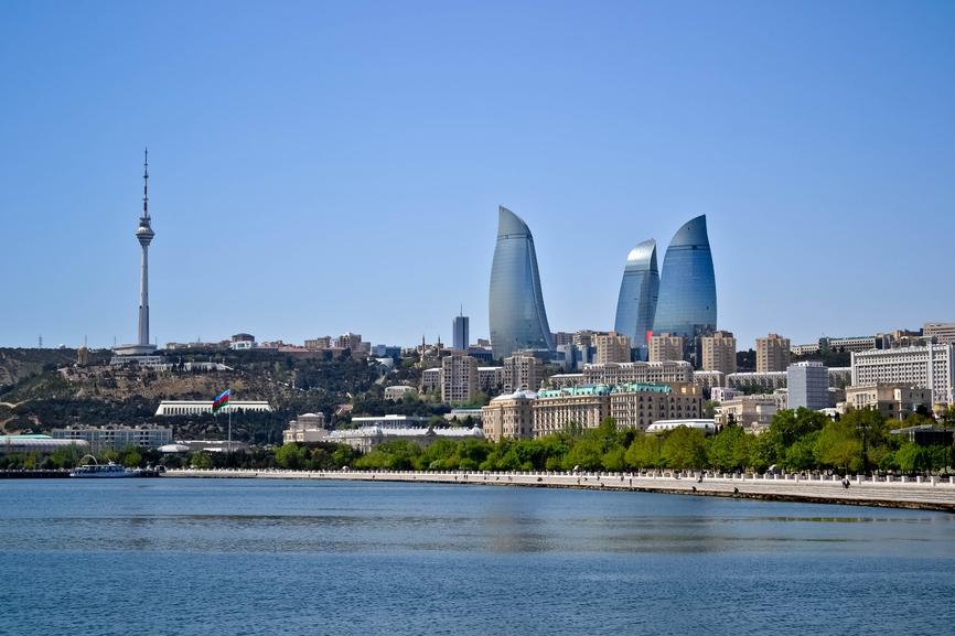Телебашня в Баку
