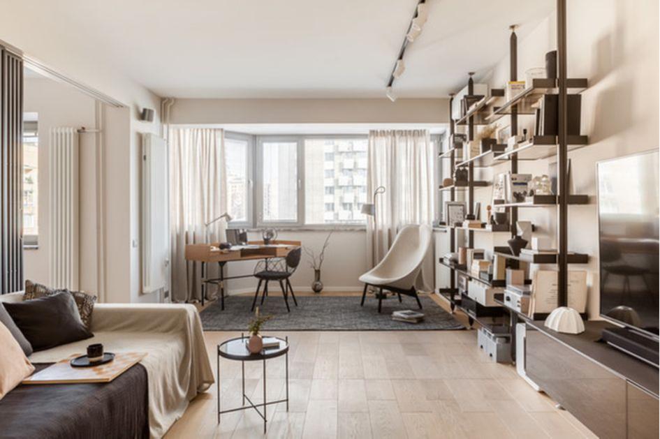 Используйте однородные материалы во всей квартире
