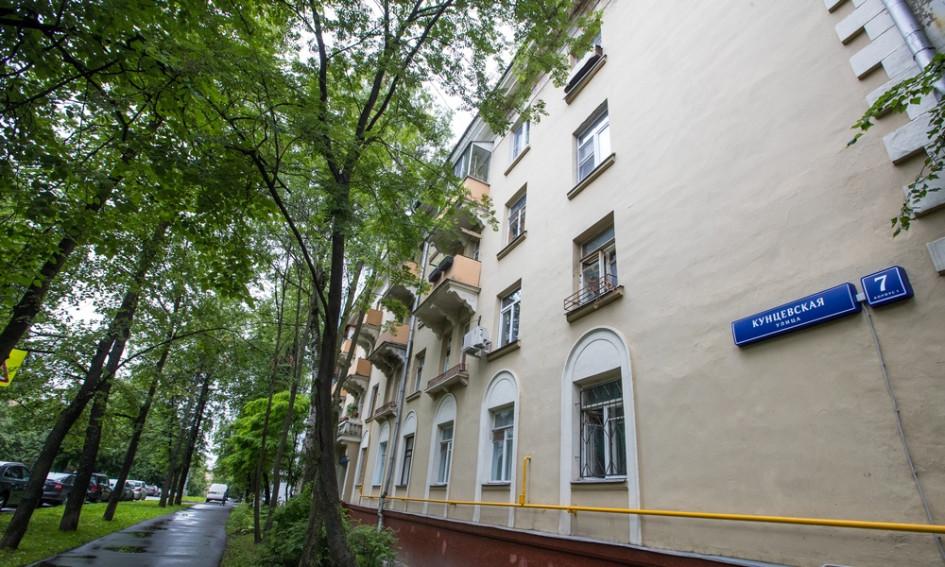 Многие дома наКунцевскойулице попали в программу реновации. На фото — дом №7, оказавшийся в перечне под снос