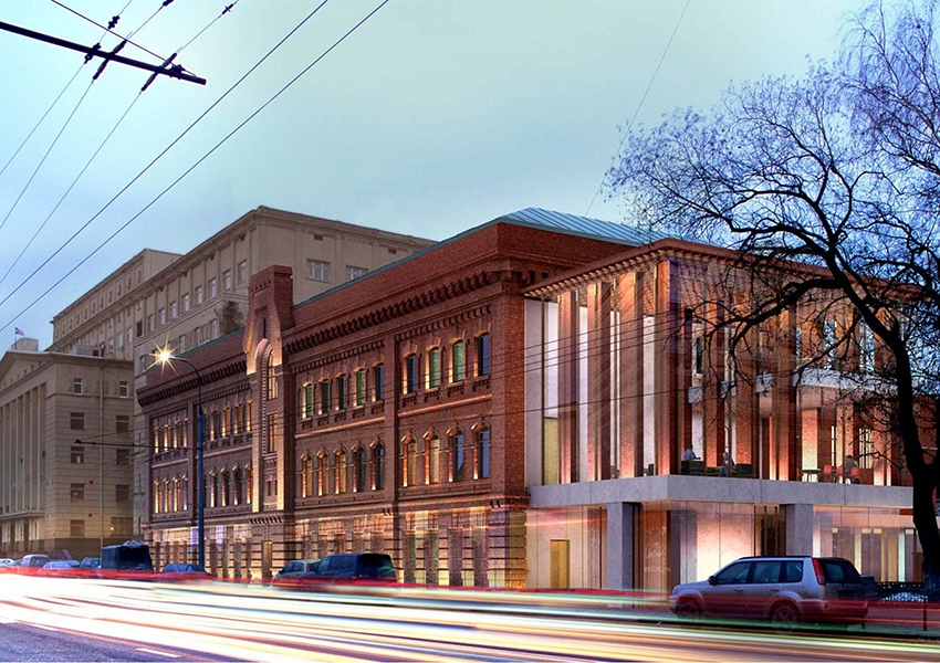 Проект реновации фасада