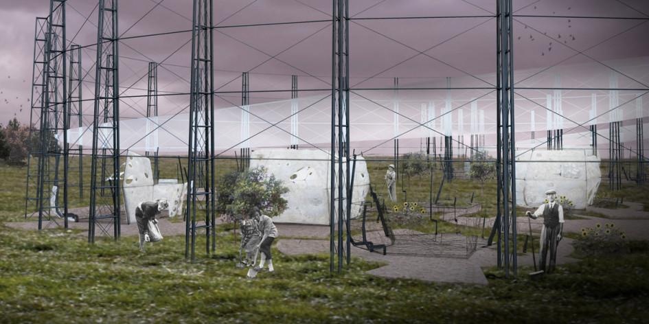 Британский архитектор Мария Вергополоу представила проект микродомов под названием Cocoon BioFlos, которые люди смогут выращивать самостоятельно. Дома будут сделаны из тонких волокон биопластика, произведенного из подсолнуха, картофеля и яблока