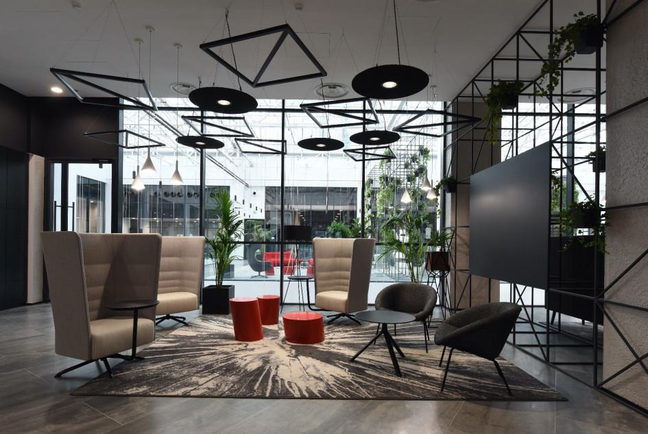 Архитекторам создали функциональное пространство по принципу agile.