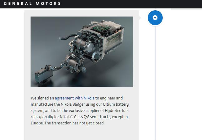 Сообщение на сайте General Motors, вызвавшее рост акцийNikola на 20%