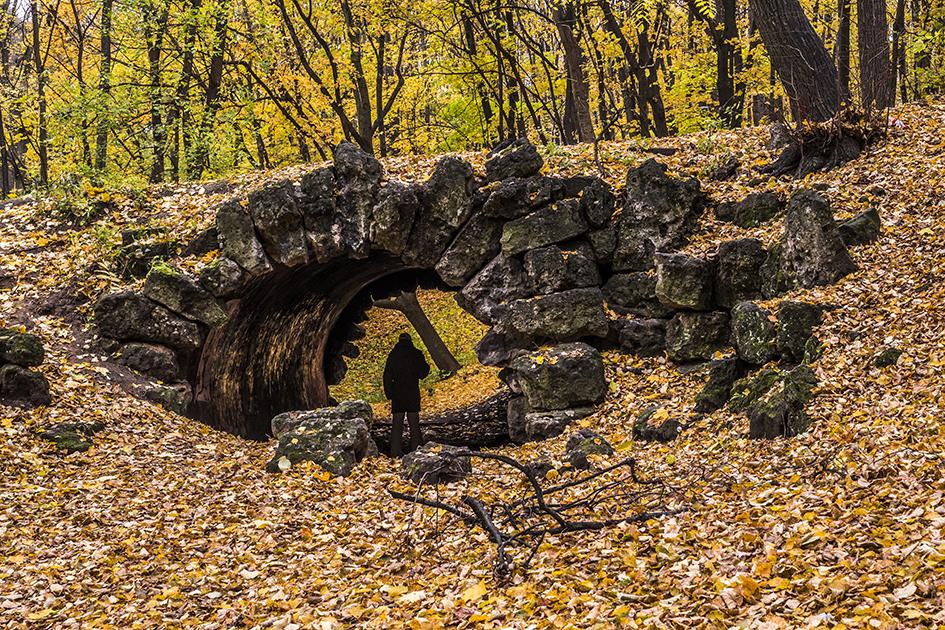 Грот Орлова в Нескучном саду