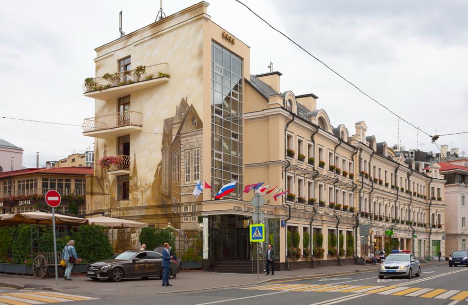 Гостиница «Кебур Палас» на улице Остоженка