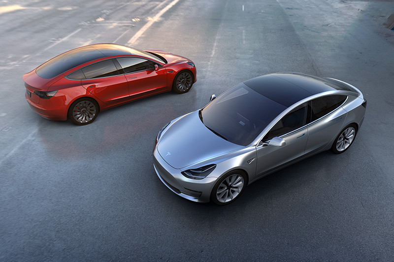 Новый бюджетный электромобиль Tesla Model 3