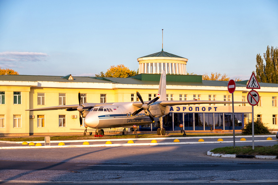 Аэропорт Саратова