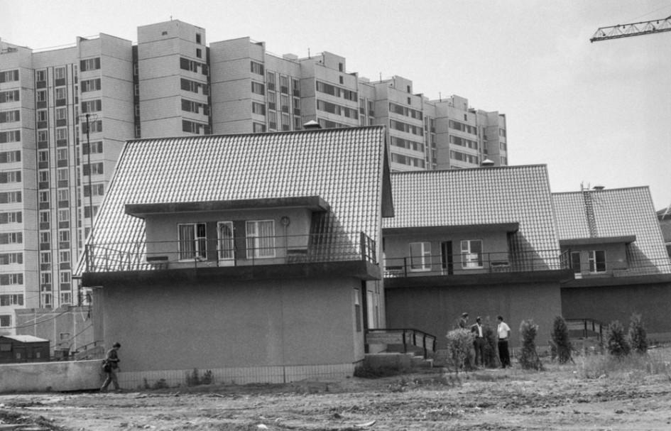 Новые коттеджи в районе Южное Бутово (1994 год)