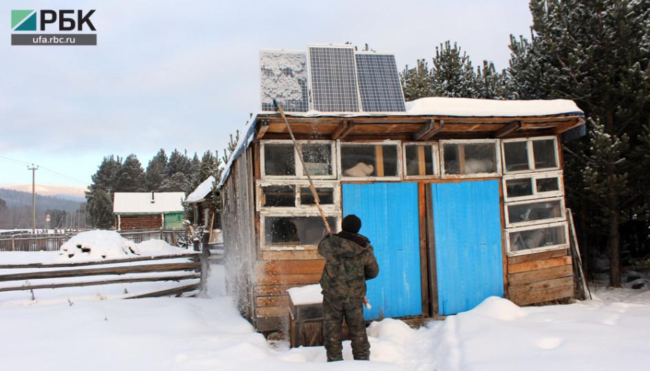Солнечные батареи в Отнурке не роскошь, а экстренная необходимость