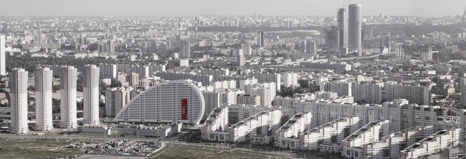 Панорама застройки Ходынского поля