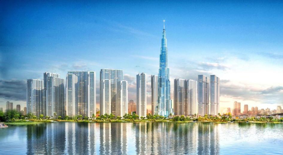 Landmark81 окажется на 124 м выше 336-метровой башни Landmark72 в Ханое — самого высокого здания Вьетнама на данный момент