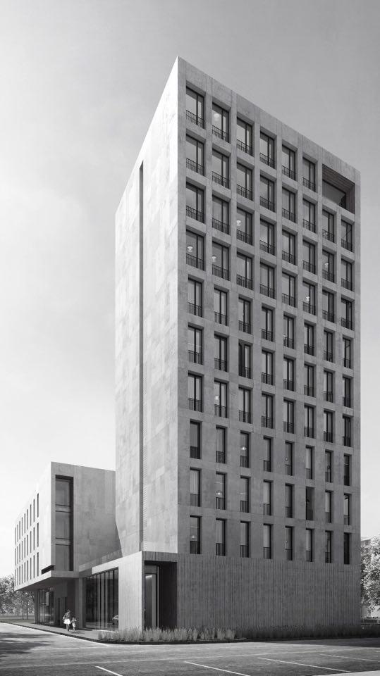 Проект апарт-комплекса