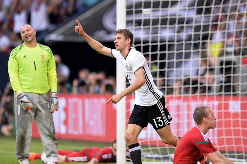 Форвард сборной Германии Томас Мюллер