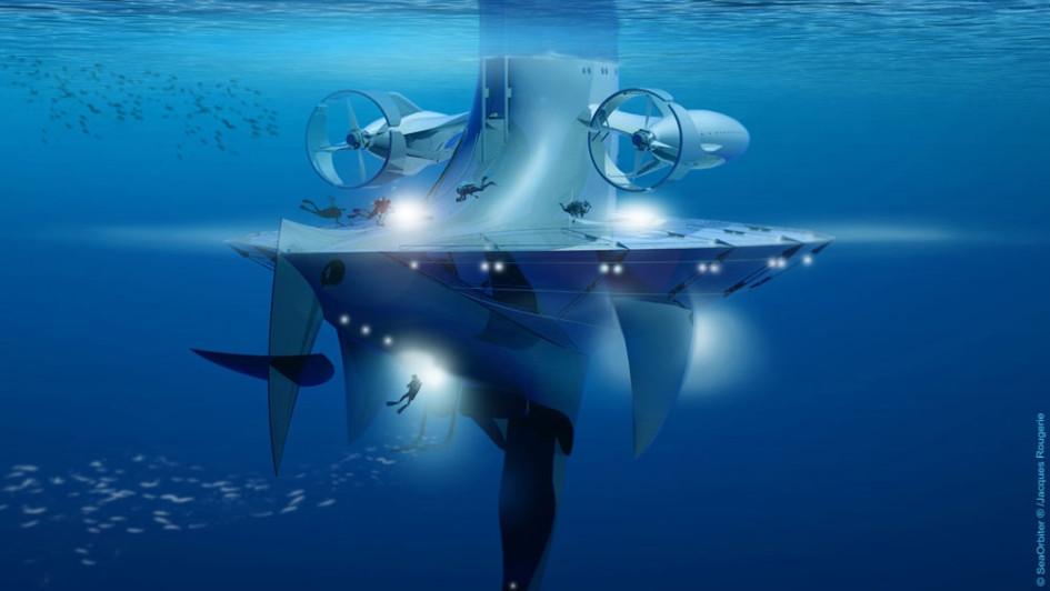 Ученые смогут изучать объекты глубиной до 6 тыс. метров.
