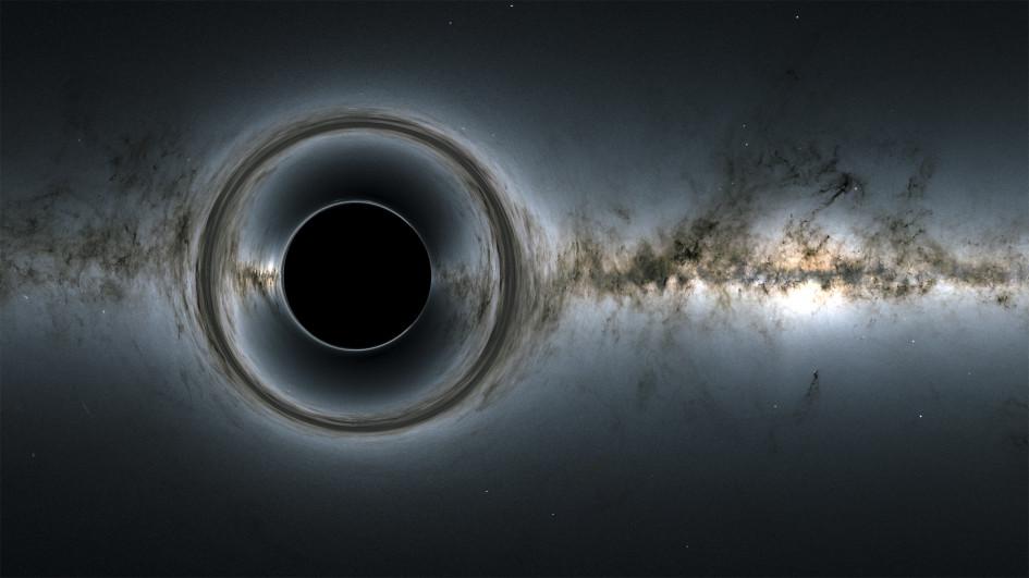 Визуализация черной дыры