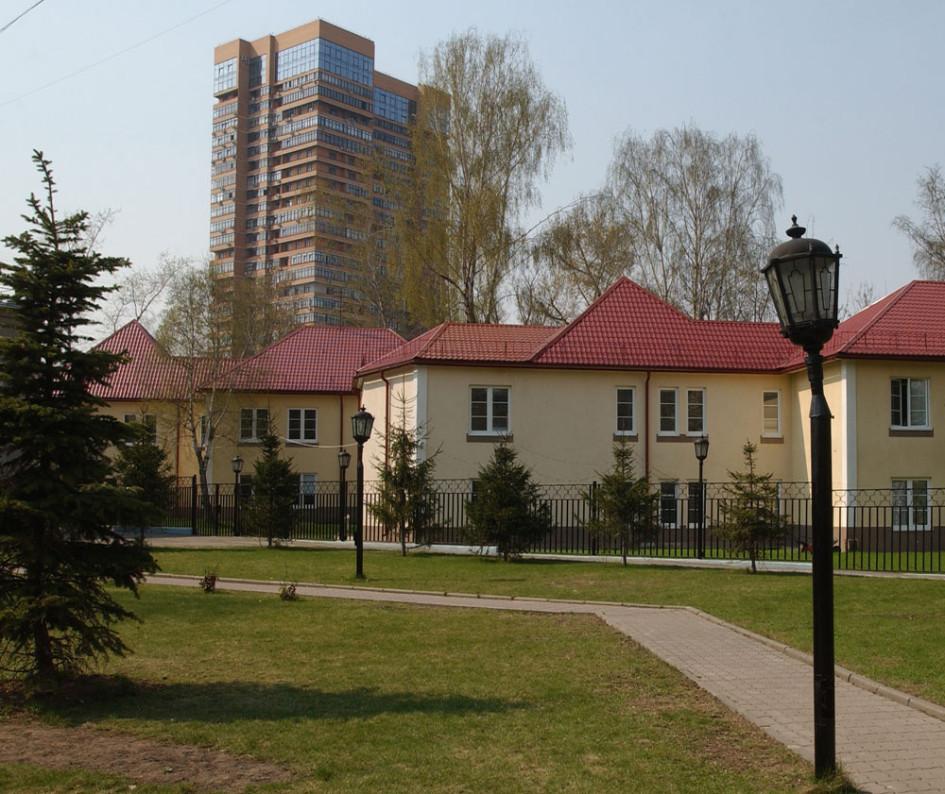 Элитные дома в поселке Сокол
