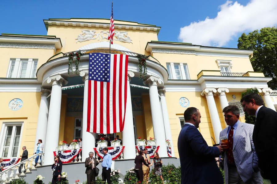Резиденция посла США в Москве