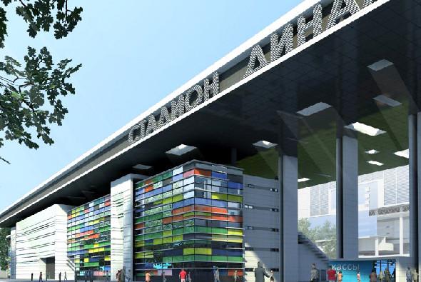 Фото: Обновленный проект реконструкции стадиона «Динамо»