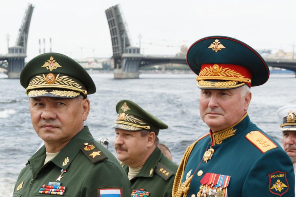Сергей Шойгу и Андрей Картаполов