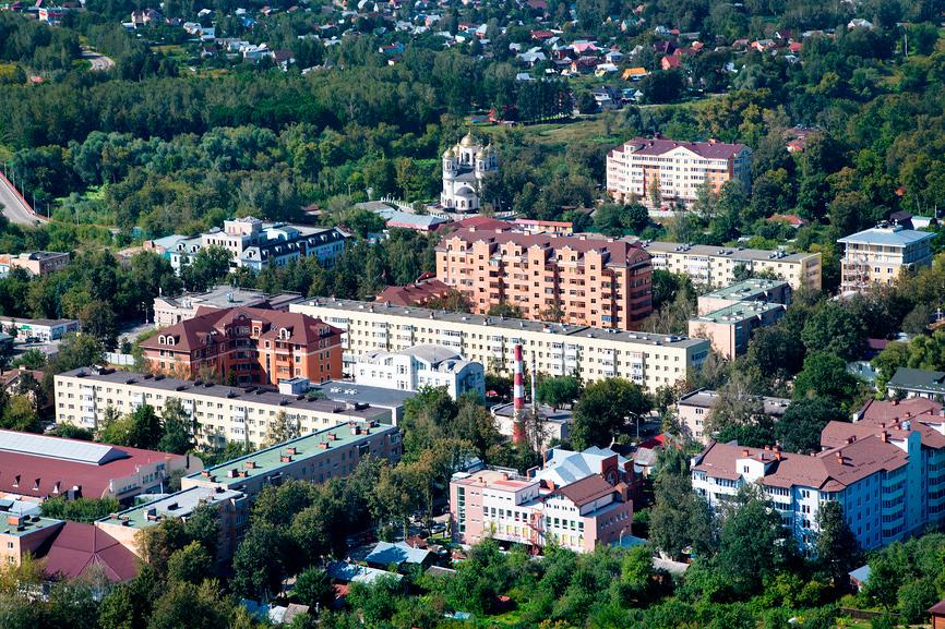 Виды Звенигорода Московской области