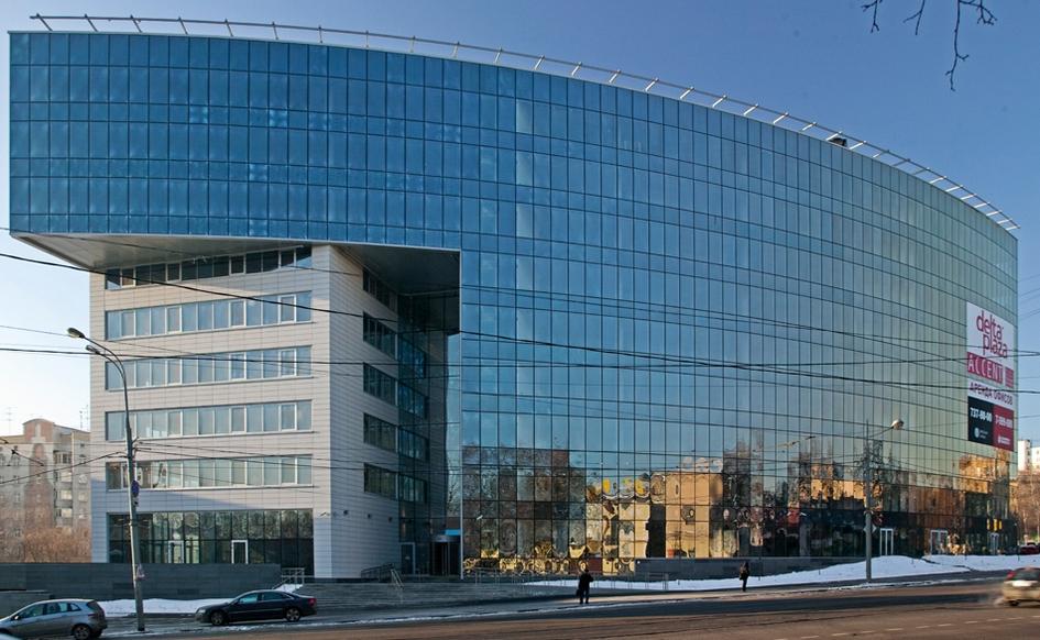 Из портфолио АБ «Остоженка»: бизнес-центр «Дельта Плаза». 2012 год